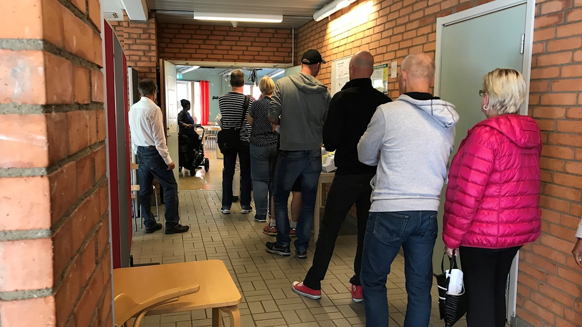 Swedes go to the polls.