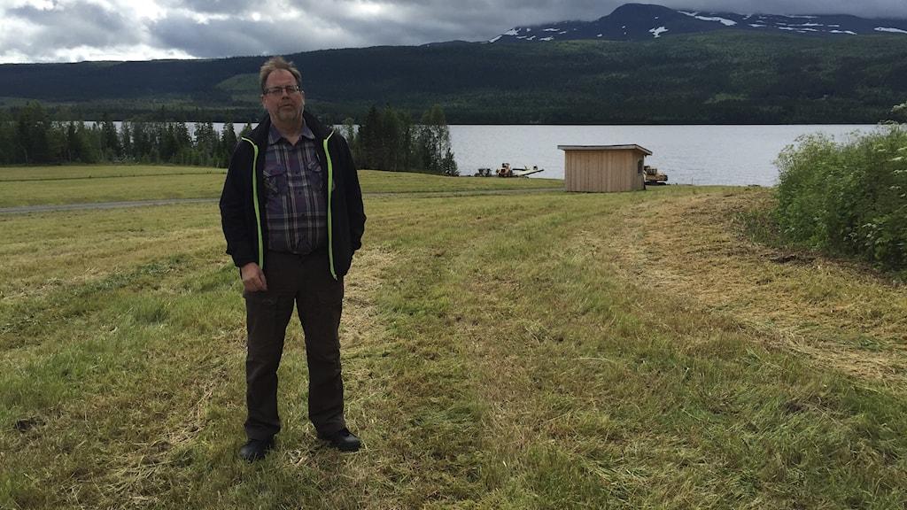 Egon Wikström är en av arrangörna bakom Vestgärd game Fair i Kall.