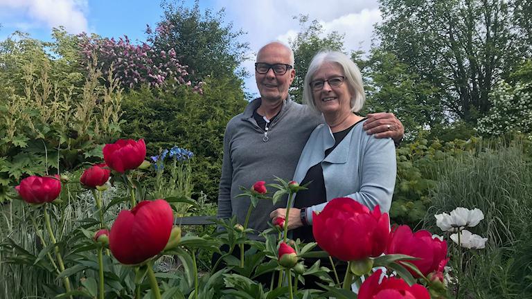 Birger och Irene Backlund i Kännåsen.