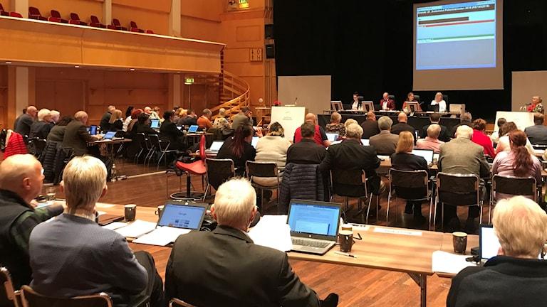Regionfullmäktige sammanträder
