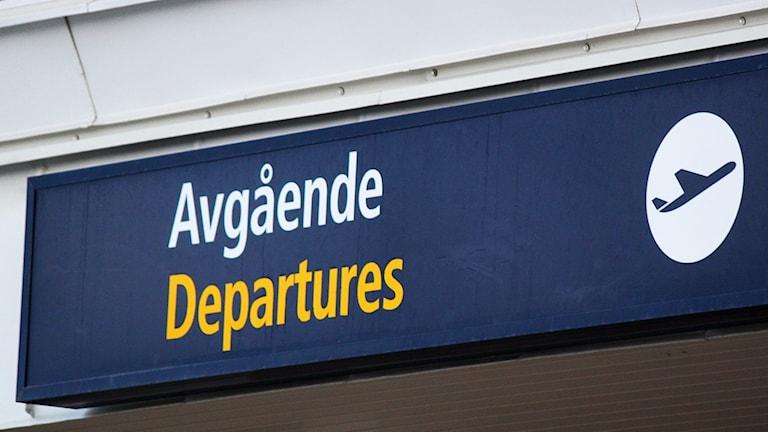 Åre Östersund Airport avgående