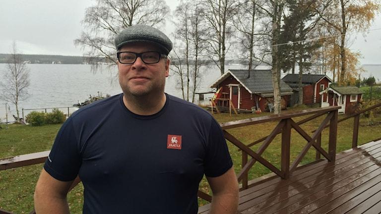Anders De Sinegube är säkerhetschef på Jamtli