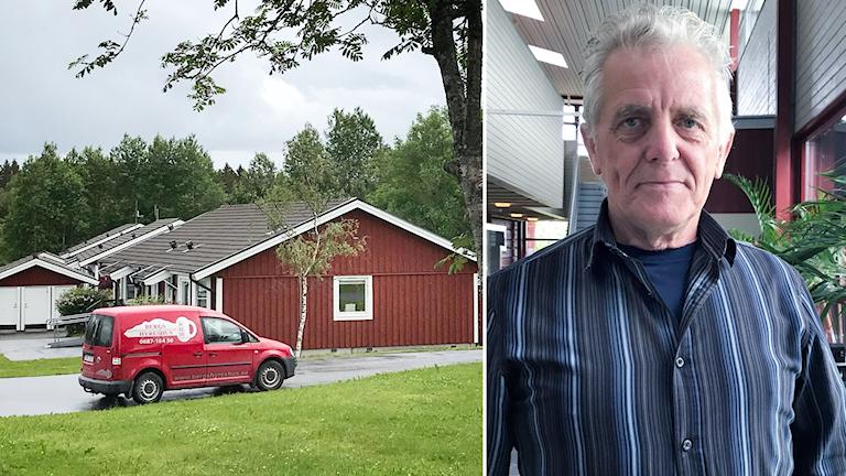 Sven-Erik Freskgård vd Bergs hyreshus Hackås hyresbostäder
