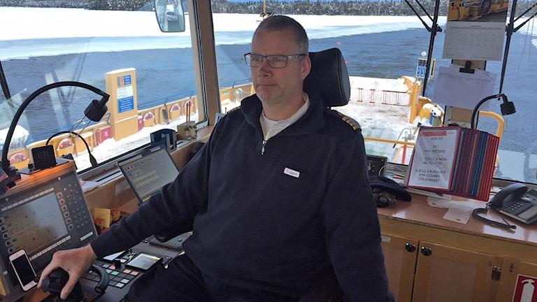 Färjekapten Göran Nilsson
