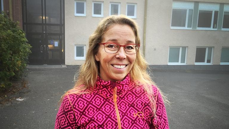 Annika Widén, rektor Treälvsskolan i Lit