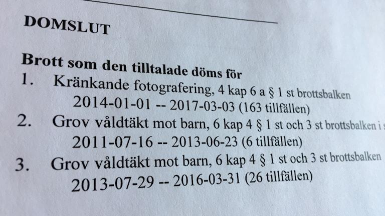 39-åringen från Östersund överklagade Tingsrättens dom på 14 års fängelse.