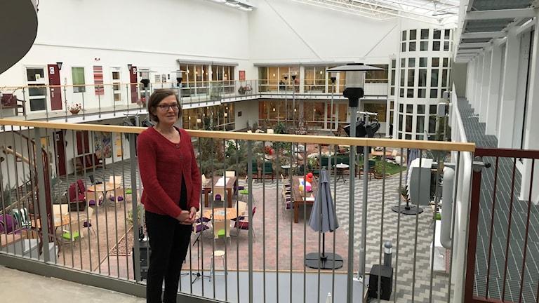 Anna-Lena Fahlen, enhetschef Nyviksvägens äldreboende i Hammarstrand