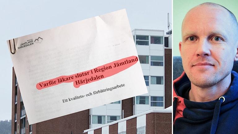 Läkare slutar Region Jämtland Härjedalen Östersunds sjukhus Oskar Knutsson