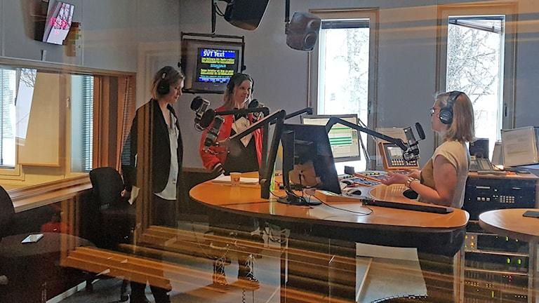 Lovisa Arvidsson och Kristina Ernehed