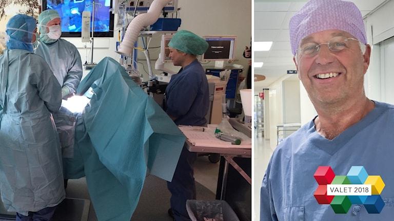 Peter Bartelmess överläkare kirurgkliniken Östersunds sjukhus rättvis vård vallogga