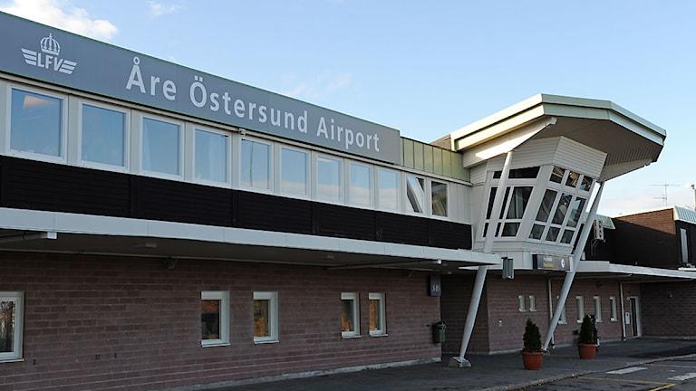 Åre Östersund Airport Flygplats. Foto: Matts Nylander/Sveriges Radio