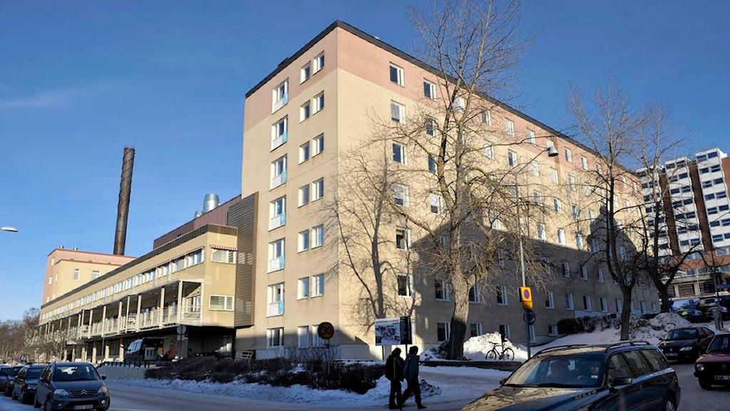 Östersunds sjukhus. Foto: SR