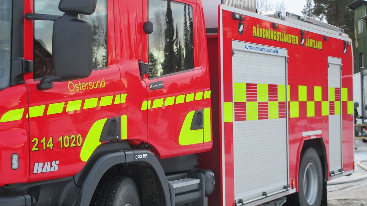 brandbil räddningstjänst