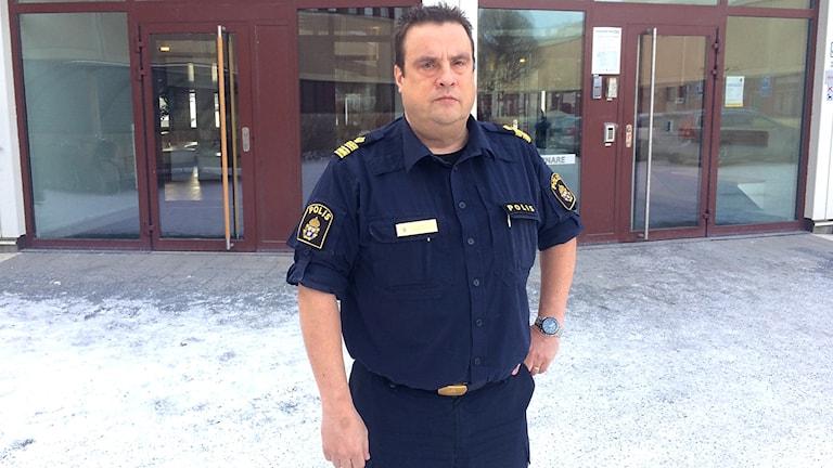 Peter Moberg Lokalpolisområdeschef i Östersund.