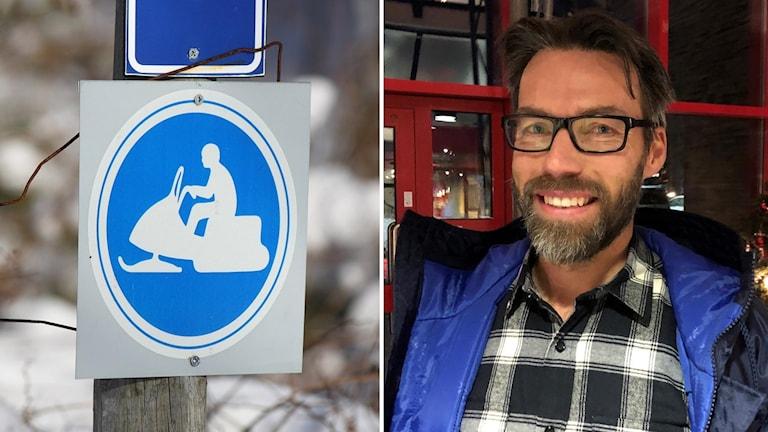 Projektledaren Andreas Edholm från Jämtland Härjedalen Turism.