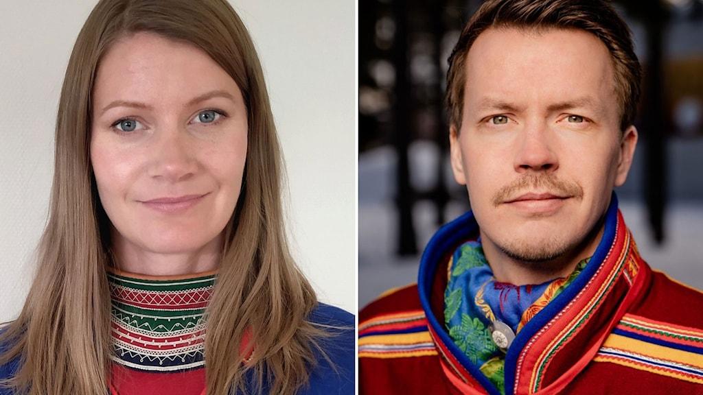 Josefina Skerks/Jakt och fiskesamerna och Lars Miguel Utsi /Guovssonásti.