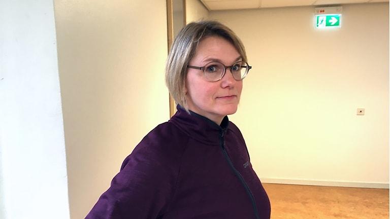 Erika Holgersson handläggare på Länsstyrelsen i Jämtlands län.