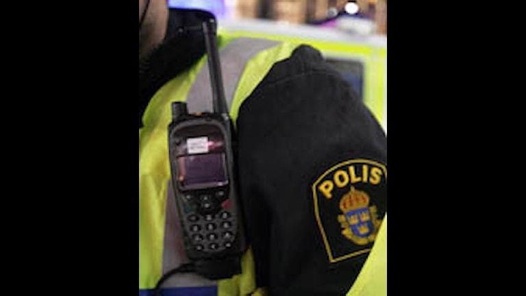 Polisens nya radiosystem RAKEL.