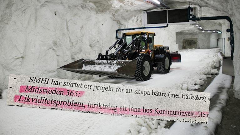 Skidtunnel Gällö Bräcke kommun Likviditetsproblem