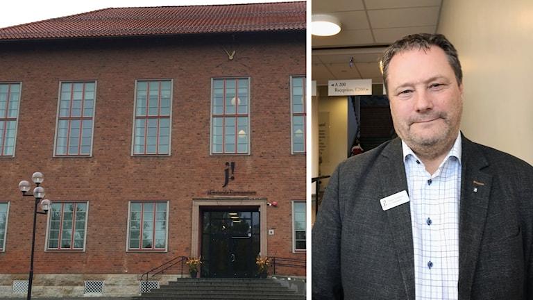 Wargentinskolan Jämtlands gymnasieförbund vice förbundschef Håkan Karlsson