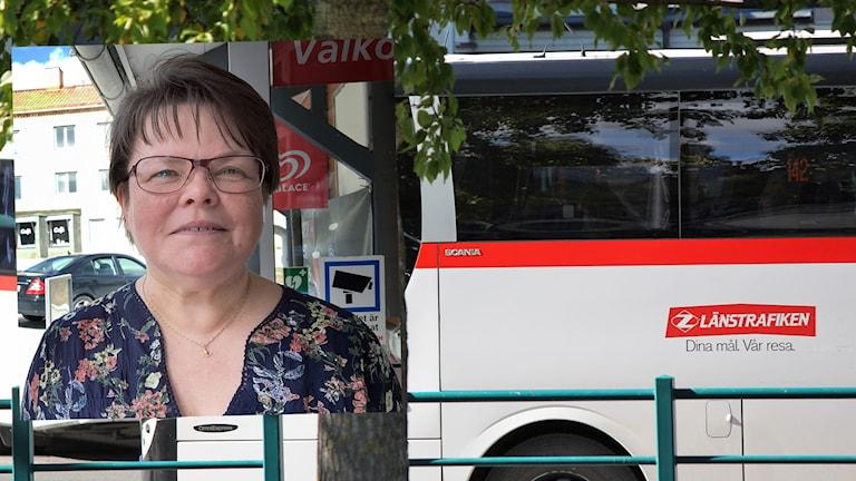 Lena Sundin stroke hjärninfarkt Östersunds sjukhus Försäkringskassan sjukersättning länstrafiken Region Jämtland Härjedalen collage