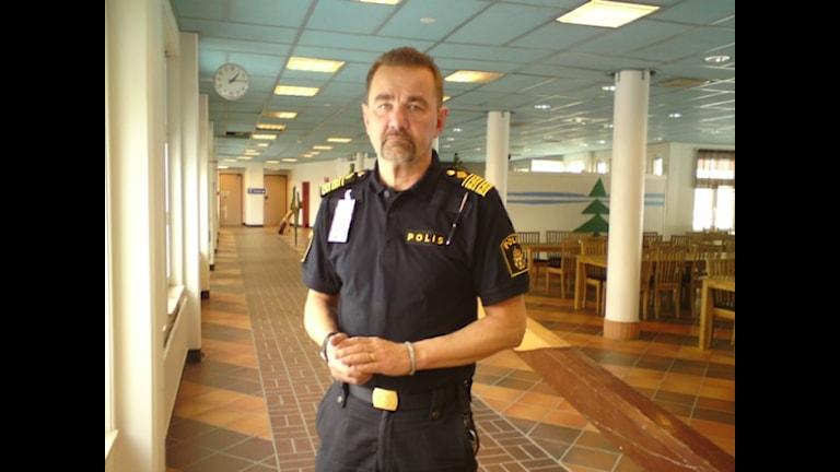 Länspolismästare Stephen Jerand. Foto: Ann-Louise Rönestål Ek.