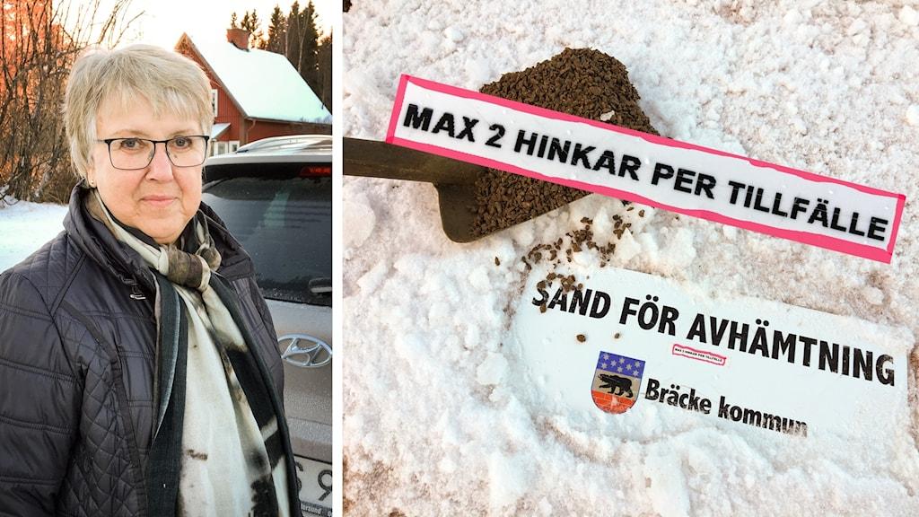 Bräcke kommun sand Kälarne Elisabeth Näslund