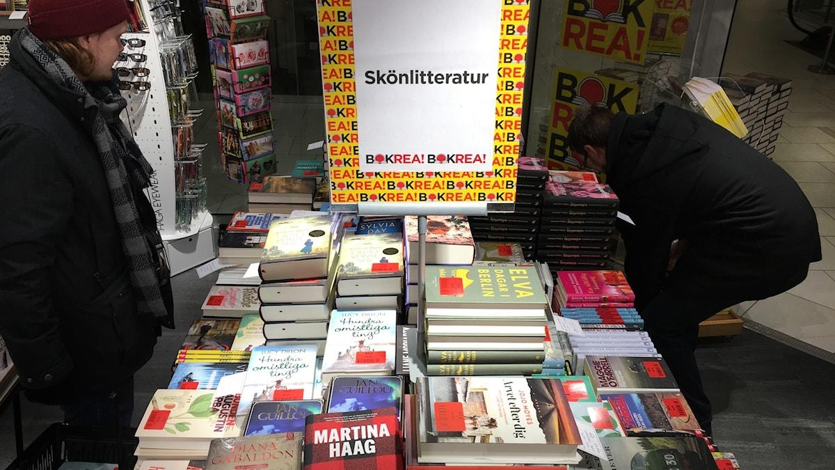 Böcker på Bokrea 2017 i Östersund