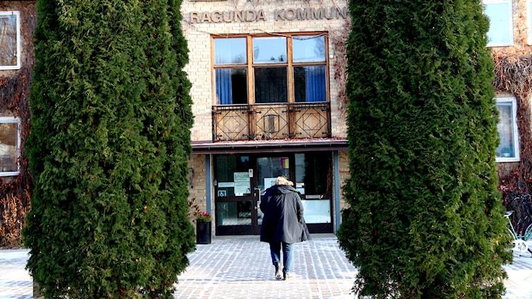 Kommunhus i Ragunda.