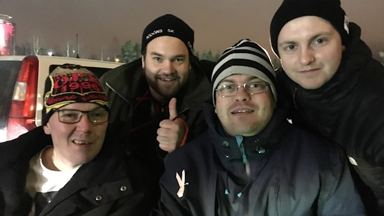 Fredrik Elsbol, Johannes Öhlund, Magnus Jonsson, Morgan Jonsson