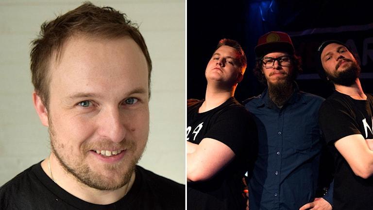 Jesper Sjölander samt Norrlänningar med attityd - montage.