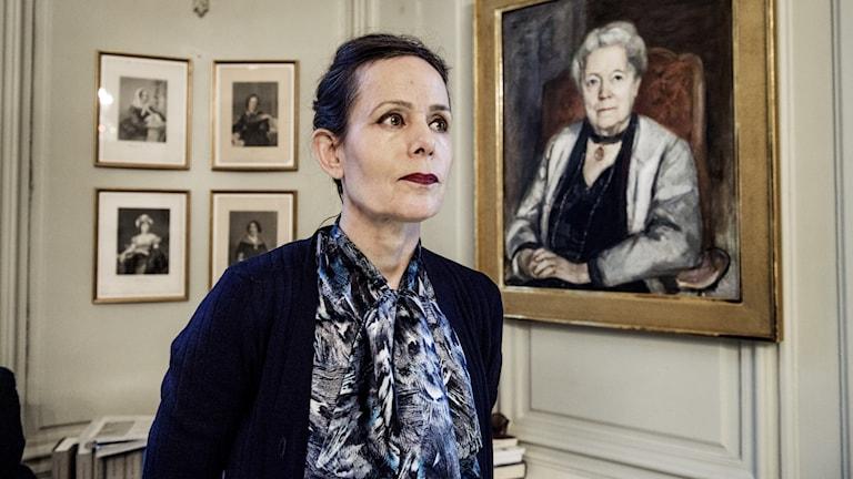 STOCKHOLM 2017-12-01 Sara Danius, ständig sekreterare i Svenska Akademien Foto: Lars Pehrson / SvD / TT / Kod: 30152 ** OUT DN, Dagens Industri (även arkiv), Metro och Expressen **