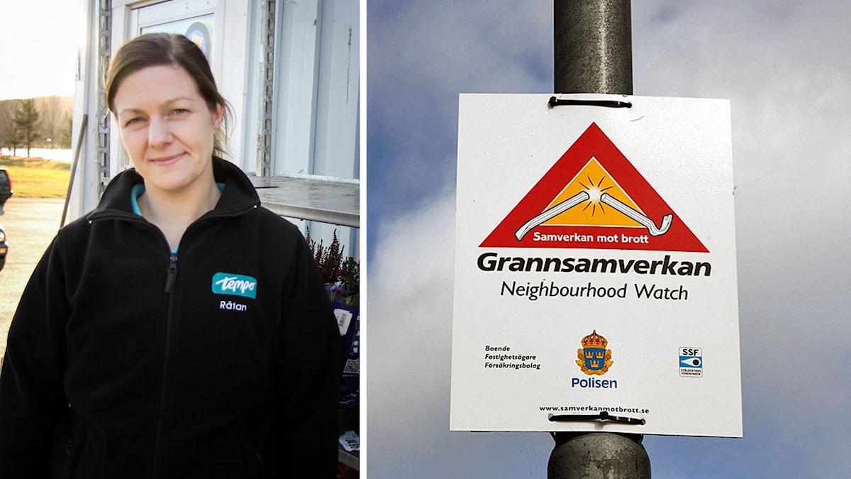 Maria Gerling Rätan butiksföreståndare grannsamverkan polis