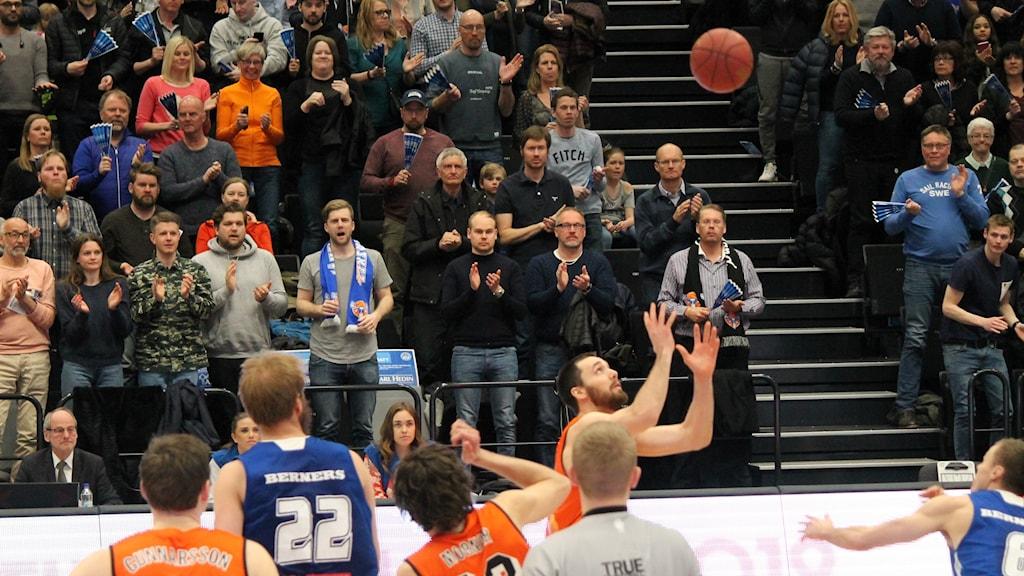 Jämtland Basket Borås Uppkast Kvartsfinal 2018