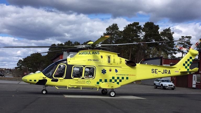 italiensk ambulanshelikopter AW169