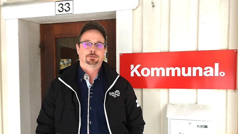 Rikard Mattsson är ordförande i Kommunal i Härjedalens kommun.