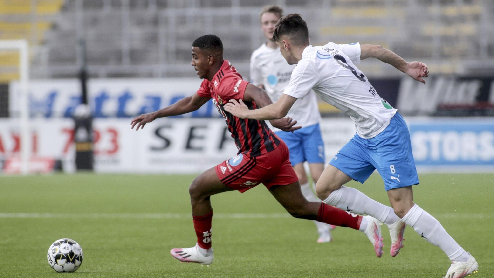 0-0 mellan ÖFK och Helsingborg