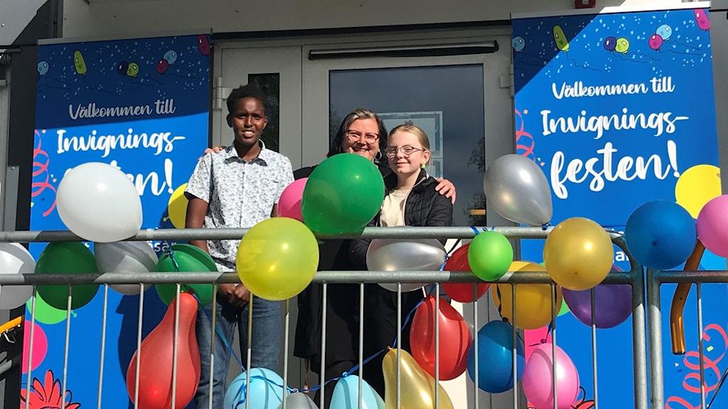 Fjällängsskolan inviger nya lokaler.