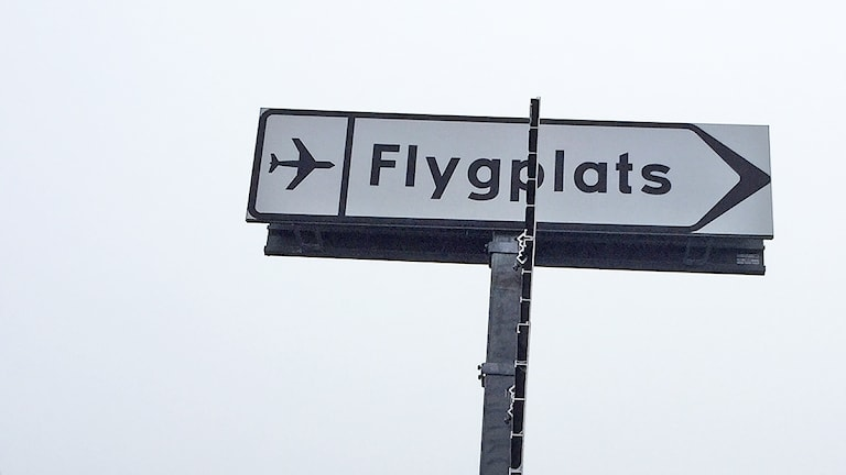 Vägvisare till flygplats