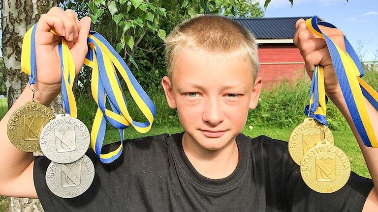 Arvid Einarsson från Svedje, nära Pilgrimstad, är en framgångsrik sportfiskare