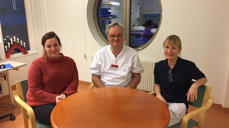 Huntingtons team på Östersunds sjukhus.