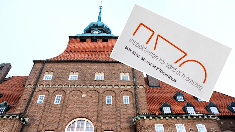 Östersunds kommunhus / IVO-loggan