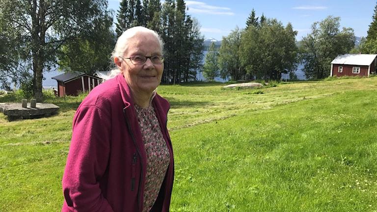 Elsie Eliasson, Sandviken, Torrön nordvästra Jämtland.