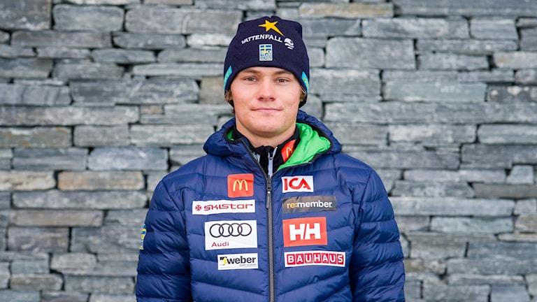 Alpina landslagsåkaren Max Gordon Sundqvist.
