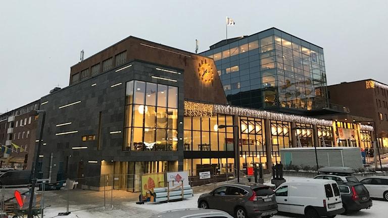 Nyrenoverade Storsjöteatern i Östersund.