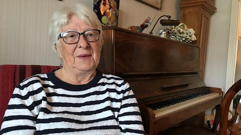 Birgitta Svanholm, ordförande föreningen Smedjan i Krokom