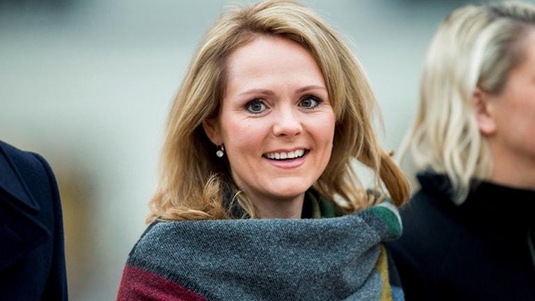 Linda Hofstad Helleland, norsk kulturminister. Nu invald som ny vice ordförande för antidopningsbyrån Wada. November 2016. Foto: Vegard Wivestad/TT