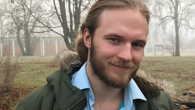 Kulturentreprenören Jesper Lindgren. Foto: Anneli Johansson/Sveriges Radio