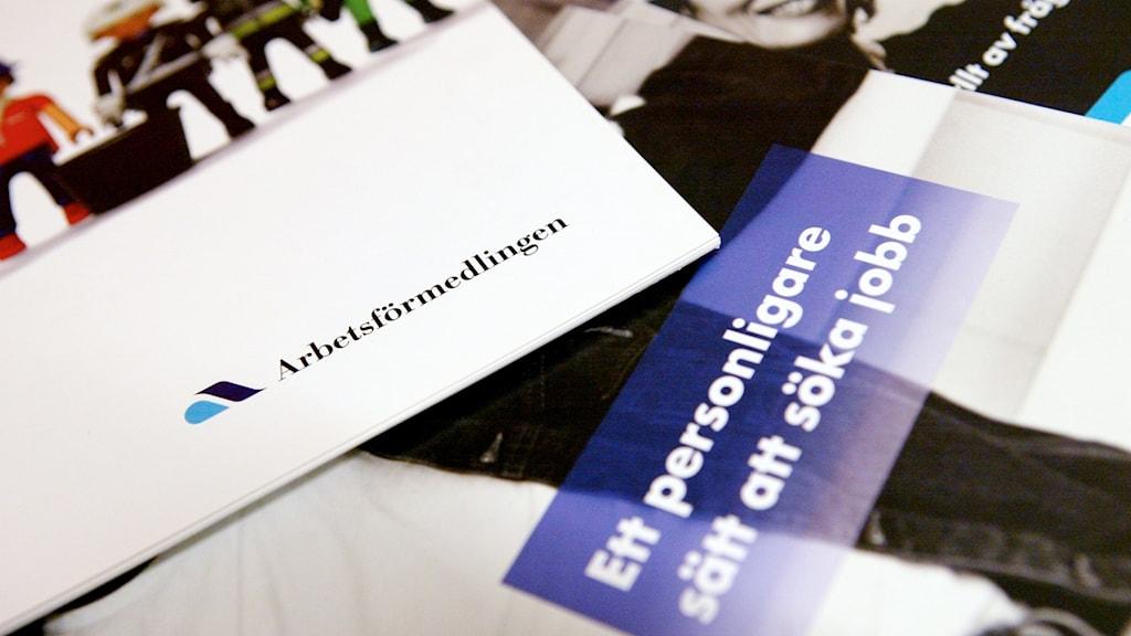 STOCKHOLM 20041021 Arbetsförmedlingen på Fridhemsgatan, Kungsholmen i Stockholm. Foto: Henrik Montgomery
