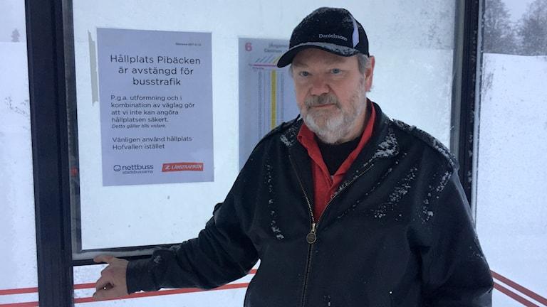 Skyddsombud för centrala buss Bengt Breding, Skyddsstopp, Pibacken
